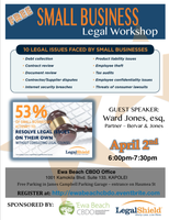 FREE Small Business Legal Workshop