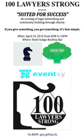 """100 LAWYERS STRONG - """"Suited for Success"""" - A Charity..."""