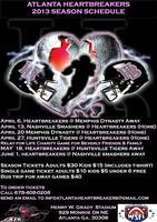 Atlanta Heartbreakers Game Tickets