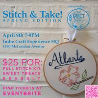 Stitch & Take! Spring Edition: with Quiet Hours Hand...