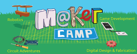 Maker Camp (8-14 years old)