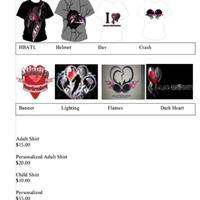 Atlanta Heartbreakers T-Shirts
