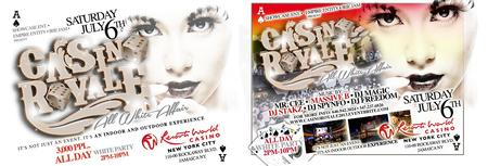 Casino Royale: All White Independence Wknd Casino Day...