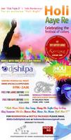 HOLI -Festival of Colors F/T DJ SHILPA! DANCING, BODY...