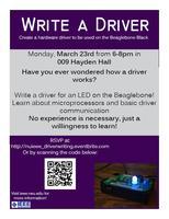Hardware Driver Workshop