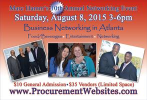 Marc Hamm's 10th Annual Business Networking Event 2015