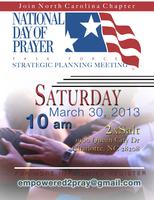 NC National Day of Prayer Task Force Strategy Meeting