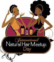 International Natural Hair Meetup Day Presented by Desi...