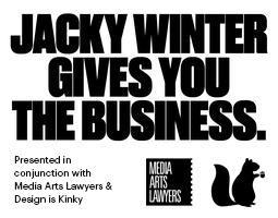 Jacky Winter Gives You the Business - SYDNEY 2015