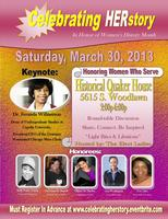 """Celebrating Herstory"" in honor of Women's History..."