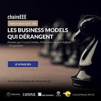 Des business models qui dérangent - Table ronde
