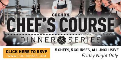 COCHON Chef's Course Takeover with Chef Kyle Bailey &...
