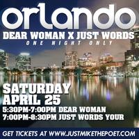 One Night Only: Orlando (Dear Woman x Just Words)