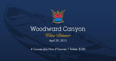 Woodward Canyon Wine Dinner at The Lake House