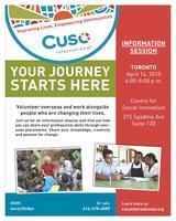 Celebrate National Volunteer Week with Cuso Internation...