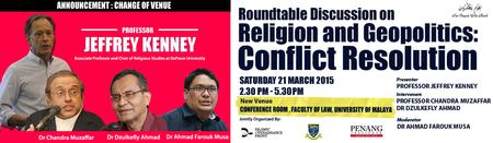 Roundtable Discussion on:  Religion and Geopolitics:...