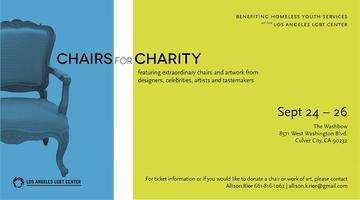 CHAIRS FOR CHARITY benefiting homeless youth services