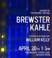 Brewster Kahle at the Graduate Center
