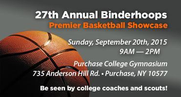 27th ANNUAL BINDERHOOPS PREMIER BASKETBALL SHOWCASE