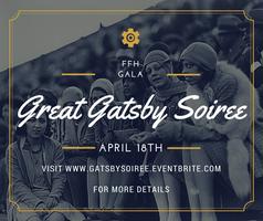"(SPONSORS & VENDORS) ""Great Gatsby Soiree"" Annual..."