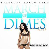 "March of ""Dimes,"" celebrating a recording artist' Bday..."