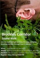 Brockley Corridor Sound Walk