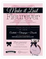 Make It Last Fleurever: A Premium Fragrance Launch