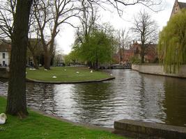Escursione a Bruges con giro in barca.