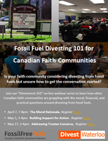 Divestment 101 for Canadian Faith Communities: The...