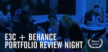 E3C + Behance Portfolio Review Night