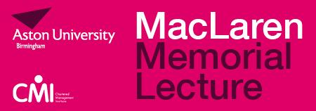 MacLaren Memorial Lecture: Brand transformation in the...