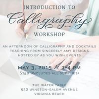 Cocktails & Calligraphy