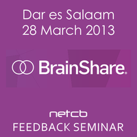 BrainShare 2013 FEEDBACK: New Business Technologies -...