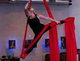 Aerial Silks Practica
