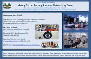SARBS Georg Fischer Factory Tour and Networking Event