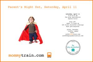 Parent's Night Out- The Play Destination, Agoura Hills