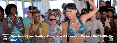 PRIDE, LOVE + LIBERATION CRUISE - BAY AREA CA USA...