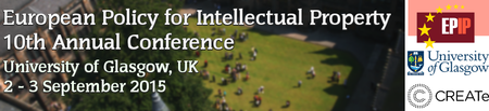 European Policy for Intellectual Property 10th Annual...