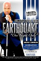 """EARTHQUAKE LIVE """"ONE NIGHT ONLY"""""""