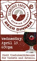 Local Beer Dinner: Scorched Earth
