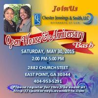 CJS Anniversary Bash & Open House