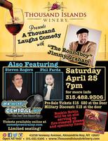 A Thousand Laughs Comedy Night with Roundboy Jimmy Grah...