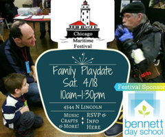 Playdate at Chicago Maritime Festival with Bennett Day ...