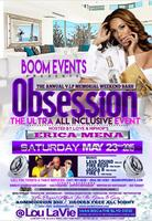 "MIAMI ALL INCLUSIVE PARTY ""OBSESSION"" HOSTED BY ERICA..."
