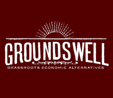 Groundswell Grassroots Economic Alternatives logo