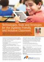 Technologies, Tools and Strategies for the Dyslexia...