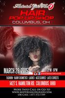 HAIR POP UP SHOP - COLUMBUS OHIO