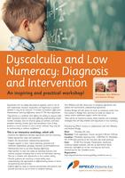 Dyscalculia and Low Numeracy: Diagnosis and...
