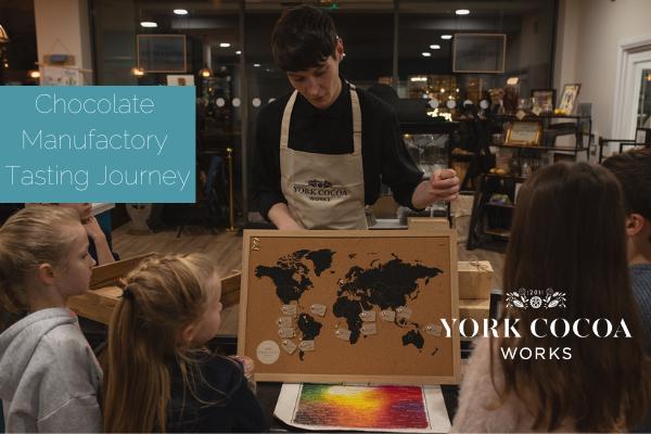 Chocolate Manufactory Tasting Journey - October 2021