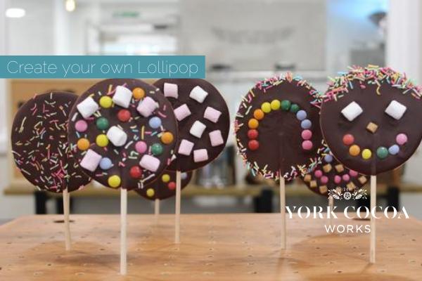 Chocolate Lollipop Making - October